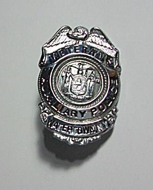 OBSOLETE VETERAN`S AUXILIARY POLICE WATERTOWN N.Y. BADG (Image1)