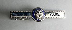 OBSOLETE STATE OF NEW YORK WATERTOWN N.Y. POLICE TIE  (Image1)