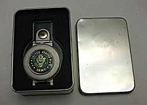AVON UNITED STATES ARMY BUCKLE WATCH NEW IN THE TIN (Image1)