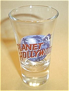 Planet Hollywood San Antonio Tall Boy Shot Glass