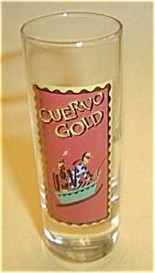 CUERVO GOLD TALL BOY SHOT GLASS (Image1)