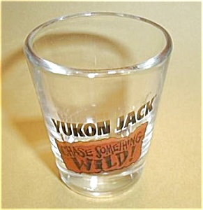 YUKON JACK CHASE SOMETHING WILD SHOT GLASS (Image1)