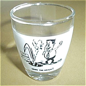 DOWN THE HATCH SHOT GLASS (Image1)