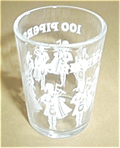 100 PIPERS DOUBLE SHOT SHOT GLASS (Image1)