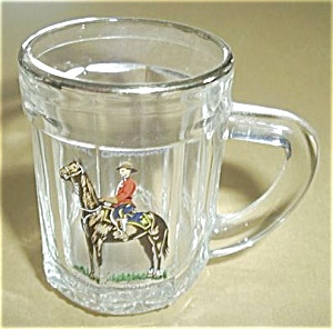 ROYAL CANADIAN MOUNTED POLICE SHOT GLASS MUG (Image1)
