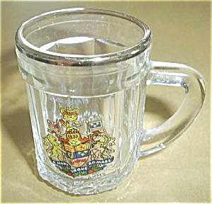 Canadian Coat Of Arms Shot Glass Mug