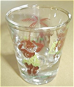 HERE`S LOOKING AT YOU (AFRICAN) SHOT GLASS (Image1)