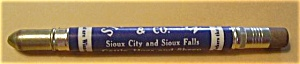 STEELE - SIMAN & CO. CATTLE HOGS & SHEEP BULLET PENCIL (Image1)