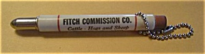 FITCH COMMISION CO. ST. PAUL MINN. BULLET PENCIL (Image1)