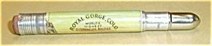 ROYAL GORGE COLORADO VINTAGE BULLET PENCIL (Image1)