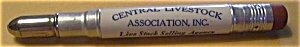 CENTRAL LIVESTOCK ASSOCIATION ST. PAUL BULLET PENCIL (Image1)