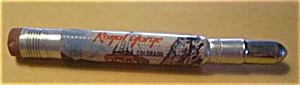 OLD ROYAL GORGE COLORADO AERIAL TRAM BULLET PENCIL (Image1)