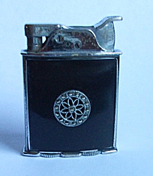 VINTAGE 1939 EVANS TRIG-A-LITE POCKET LIGHTER (Image1)