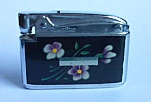 VINTAGE 1960`S QUEEN STAR LADIES POCKET LIGHTER (Image1)