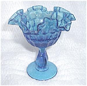 FENTON BLUE ICE THUMBNAIL COMPOTE (Image1)