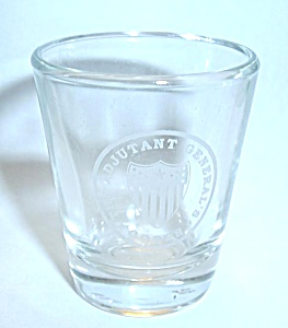 THE ADJUTANT GENERAL`S CORPS SHOT GLASS (Image1)
