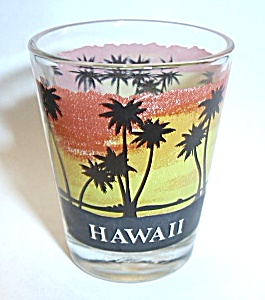 HAWAII - HAWAIIAN SHOT GLASS (Image1)