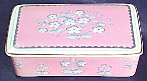 1962 WEDGWOOD PIMPERNEL  CIGARETTE BOX / JEWELRY KEEPER (Image1)