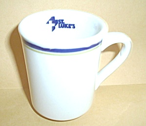 VINTAGE SYRACUSE CHINA ST LUKES HOSPITAL COFFEE MUG (Image1)