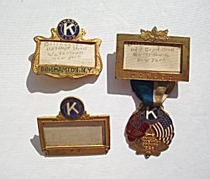 3 - VINTAGE KIWANA CLUB - CANADA TORONTO 1922 CONVENTI (Image1)