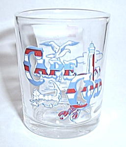 Cape Cod Double Shot Glass
