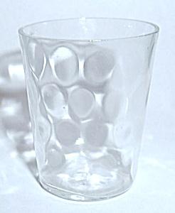 THUMB PRINT VINTAGE SHOT GLASS (Image1)