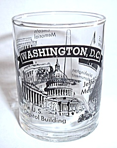 DOUBLE SHOOTER WASHINGTON D.C. SHOT GLASS (Image1)