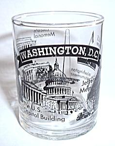 DOUBLE SHOOTER WASHINGTON D.C. SHOT GLASS (Image1)