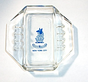 Vintage Hotel Edison New York New York City Ashtray