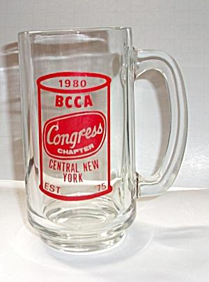 VINTAGE 1980`S BEER CAN LOGO BCCA MUG CONGRESS CHAPTER  (Image1)
