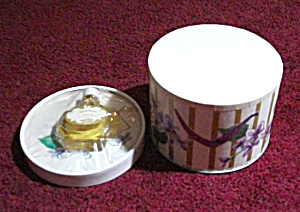 VINTAGE TRULY YOURS PERFUME & POWDER NEVER OPENED (Image1)