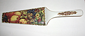 OLD FORMALITIES PORCELAIN CAKE SERVING  KNIFE (Image1)
