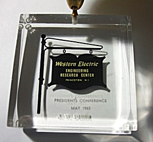 MAY 1963 WESTERN ELECTRIC ENGINEERING RESEARCH CENTER  (Image1)