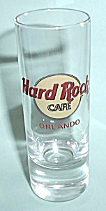 HARD ROCK CAFE ORLANDO TALLBOY SHOT GLASS (Image1)