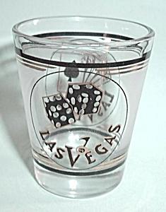 VINTAGE SHOT GLASS LAS VEGAS (Image1)