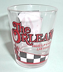 THE ORLEANS HOTEL & CASINO LAS VEGAS SHOT GLASS (Image1)
