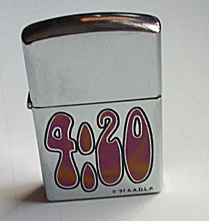 A.A.D.L.P.1997 4:20 POCKET LIGHTER NEW OLD STOCK (Image1)