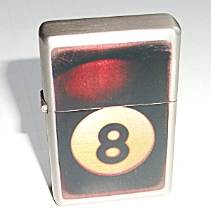 8 BALL POCKET LIGHTER NEW OLD STOCK (Image1)