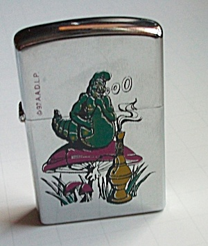 1995 A.A.D.L.P. WILD SMOKING SLUG LIGHTER N.O.S. (Image1)