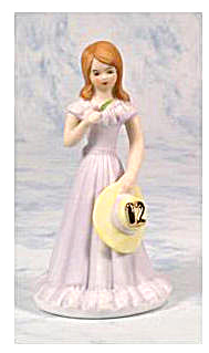 Growing Up Birthday Girls For Age 12 Brunette-enesco