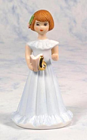ENESCO GROWING UP BIRTHDAY GIRLS AGE 6 BRUNETTE (Image1)