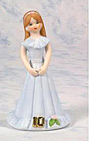 ENESCO GROWING UP BIRTHDAY GIRL BRUNETTE AGE 10 (Image1)