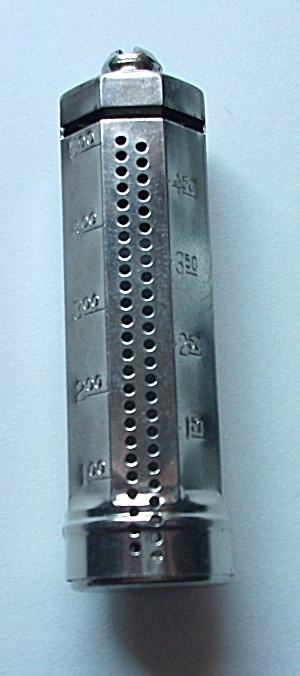 VINTAGE B&R MFG. CO. NEW YORK CHROME DIME HOLDER (1935) (Image1)