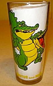 2 Tumbler Glasses Pepsi 1977 Orville & Brutus w/ Nero (Image1)