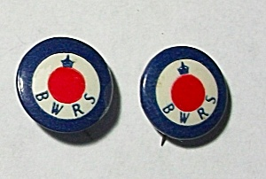 1941 BRITISH WAR RELIEF SOCIETY PINBACKS (Image1)