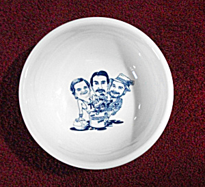 RARE!!!! SYRACUSE CHINA CEREAL BOWL ADV. WTNY RADIO (Image1)