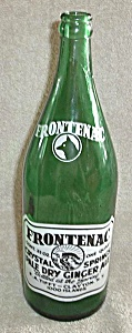 Vintage Green Frontenac Ginger Ale Clayton New York
