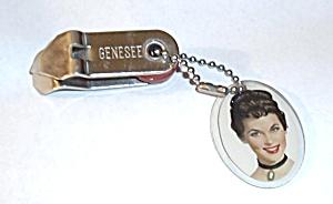 """RARE GENESEE """"JENNY"""" FOLDING KEYCHAIN OPENER (Image1)"""