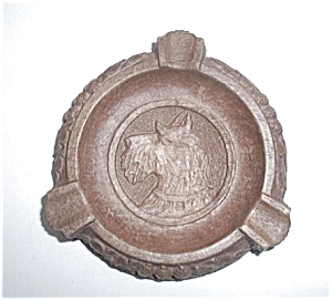 TERRIER COMPOSITION ASHTRAY (Image1)
