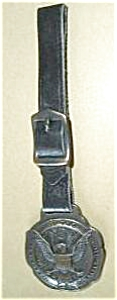 OLD 2 SIDED STANDARD VARNISH WORKS ELASTICA WATCH FOB (Image1)